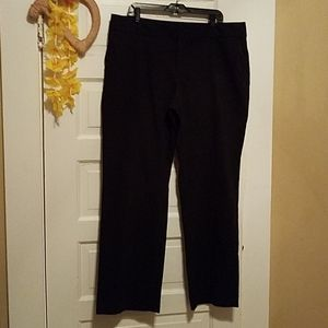 **Never worn** black pant wide leg